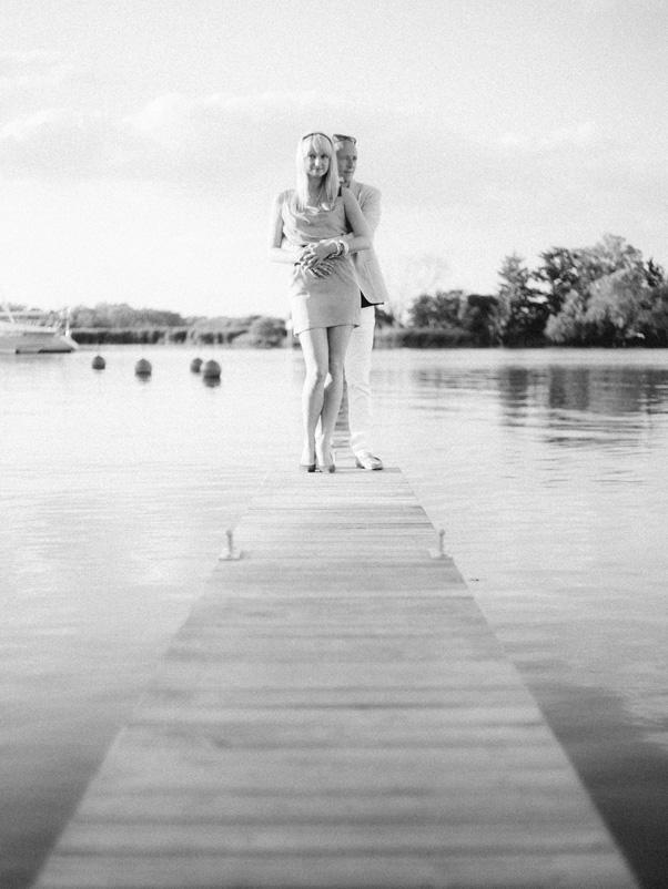 zdjęcia z zaręczyn jachtklub