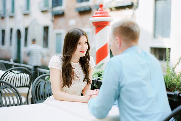 sesja zaręczynowa w wenecji
