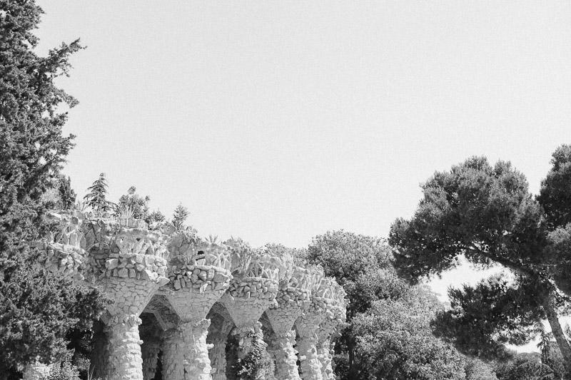 Barcelona Park Guell taras widokowy