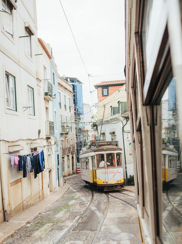 tra28 alfama lizbona tramwaje