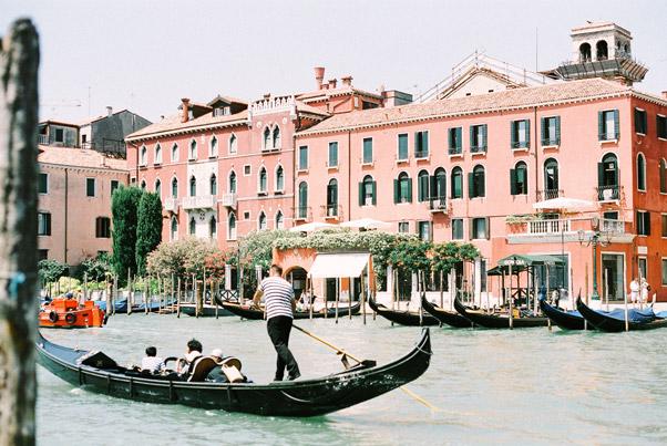 wenecja canale grande gondola
