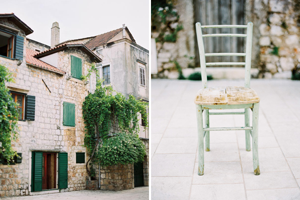 Chorwacja Stary Grad Uliczki Kamienice budynki