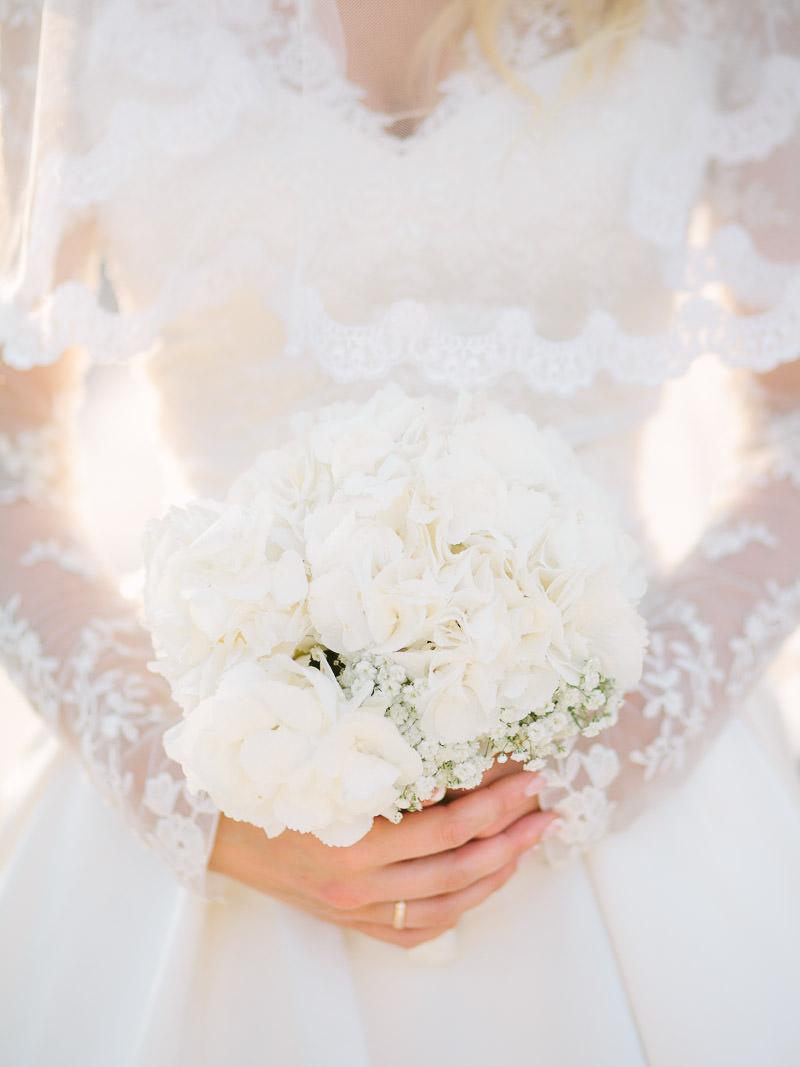 Biały Bukiet Ślubny Suknia Ślubna Styl Middleton