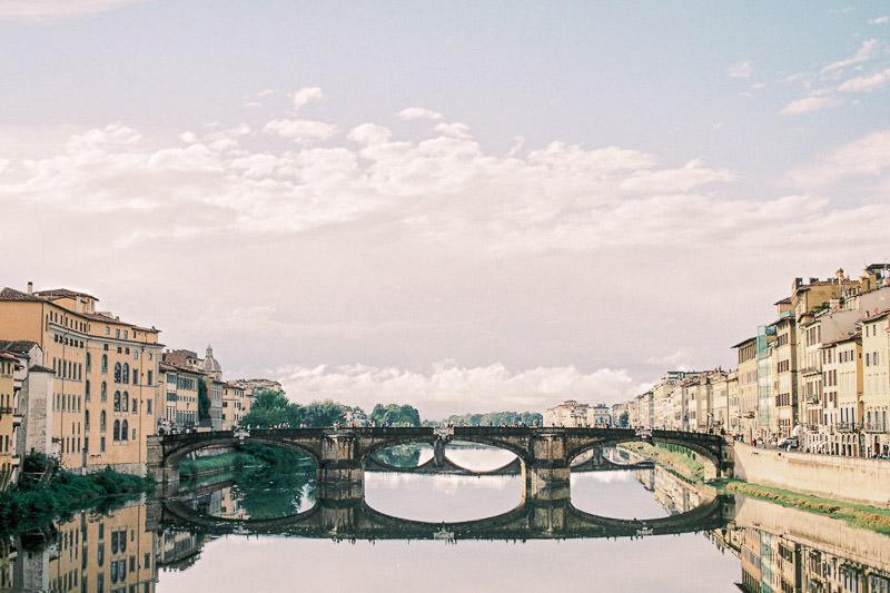 Florencja-most-włochy-fuji-400h