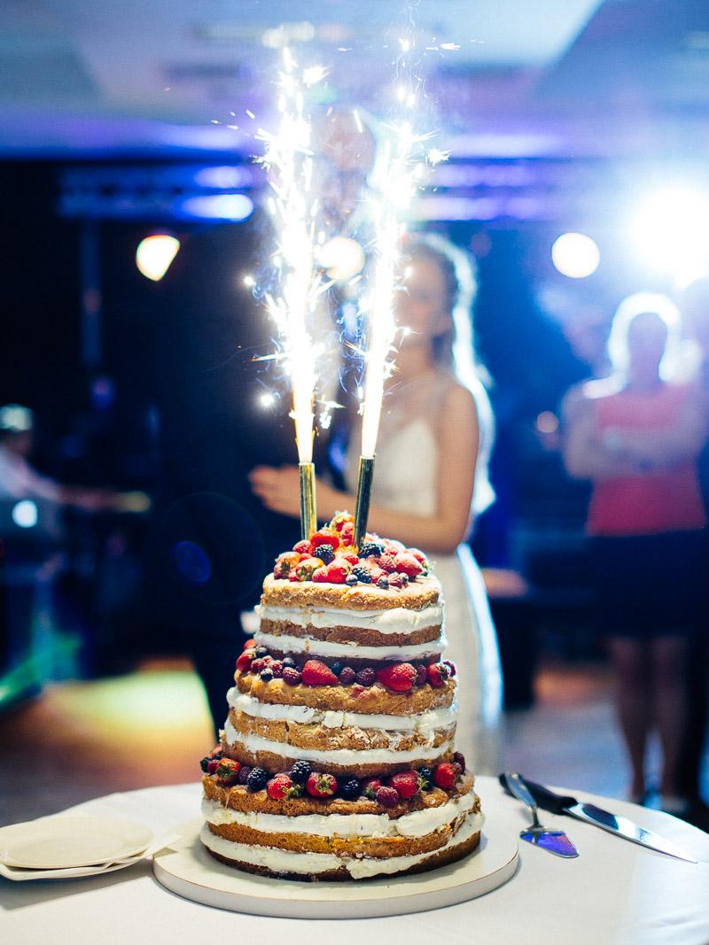 Naked Cake Tort Wesele Barczyzna