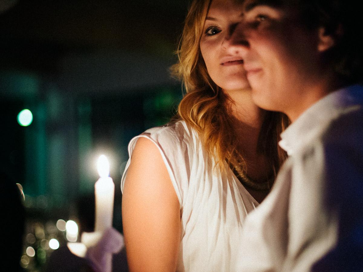 Taniec ze świecami na weselu w Szczecinie